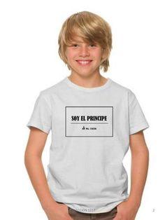 Camiseta niño SOY EL PRINCIPE de mi casa de DECHARCOENCHARCO en Etsy