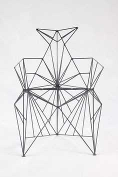 The Bat Chair by Baltasar Portillo is Geometrically Artistic trendhunter.com