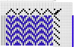 Veronelle Handmade: Linge a vaisselle motifs chevrons Willow Weaving, Hand Weaving, Chevrons, Weaving Patterns, Recherche Google, Crafts, Inspiration, Color, Weaving