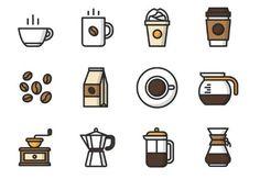 12 Vector Coffee Icons