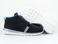 Nike - Roshe Run NM Sneakerboot - Black/Slate