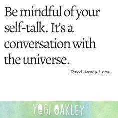James Lee, David James, Self Talk, Mindfulness, Consciousness