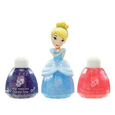 Disney Princess Little Kingdom Makeup Sets (Cinderella Hair Mascara - Bibbidy Blue) -- See this great product.