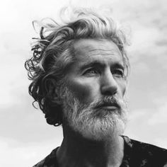 <3 Aiden Shaw, top of the beard chain. Has lived a very wild life. Model, writer, actor, former porn star and escort/rent boy. Rumored to have been Alexander McQueen's lover.