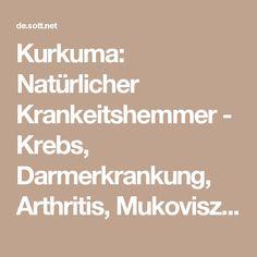 Kurkuma: Natürlicher Krankeitshemmer - Krebs, Darmerkrankung, Arthritis, Mukoviszidose, Alzheimer, Diabetes -- Gesundheit & Wohlbefinden -- Sott.net