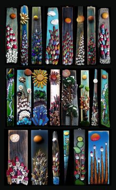 Diy Crafts - 100 Gorgeous DIY Stone, Rock, and Pebble Crafts To Beautify Your Life - Usefull Information Stone Crafts, Rock Crafts, Diy And Crafts, Arts And Crafts, Pebble Painting, Pebble Art, Stone Painting, Pebble Stone, Rock Painting