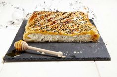 Η πιο... ιδιαίτερη τυρόπιτα με άνηθο, μέλι και μαυροκούκι - Γεύση & Συνταγές - Athens magazine Greek Sweets, Quiche, Banana Bread, Sandwiches, Recipies, Food And Drink, Pizza, Cheese, Breakfast
