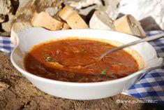 polévka z kotrče - falešná dršťková