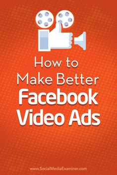 Looking for better ways to connect with your Facebook audience? Small adjustments to the way you design and target your Facebook video ads can increase your engagement and conversions. In this article you'll discover seven tips to improve your Facebook video ads. Via @smexaminer.