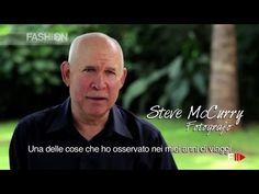 """Steve McCurry for """"LAVAZZA CALENDAR"""" 2015 making of"""