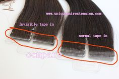 The best quality human hair extensions factory, factory price with the best quality, check the picture that is invisible tape in extensions compare with normal tape in extensions, it is real invisible, the best popular hair extensions method now, our factory use the best quality human hair to produce, the hair very soft, tangle free no shedding. Qingdao Unique Hair Products Co.,Ltd. www.uniquehairextension.com order@uniquehairextension.com Whatsapp: +8613553058361 Popular Hairstyles, Unique Hairstyles, Tape In Hair Extensions, Qingdao, Hair Products, Check, Free, Trending Hairstyles