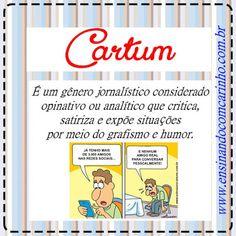 Cartazes lúdicos dos gêneros textuais com suas definições - ENSINANDO COM CARINHO