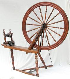 Flyer Spinning Wheels canadian Production Wheel