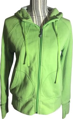 1f6d0cded27 Athleta Green Hooded Activewear Outerwear Size 8 (M) 64% off retail