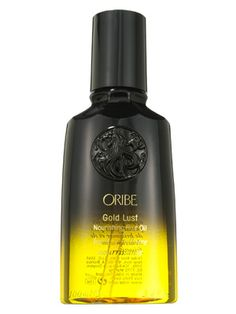 Oribe Gold Lust Nourishing Hair Oil has the brand's signature fruity floral scent