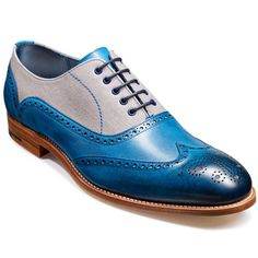 Barker Lennon Brogues – Hand Painted