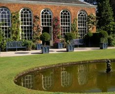 Dunham Massey  The orangery, probably built in the second half of the eighteenth century. ©National Trust Images/Neil Campbell-Sharp