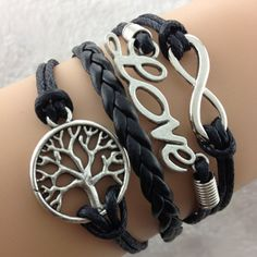 I want the infinity and the braid. The braid around the neck would look good too. But bracelet to start.