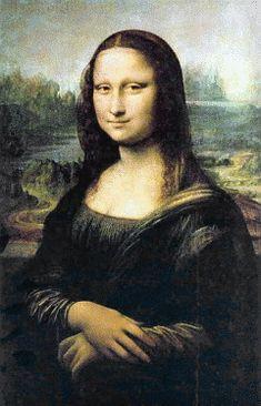 Mona_Lisa Clipart gratis di quadri_famosi