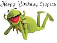 Image result for kermit the frog happy birthday images