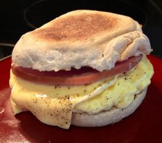 Homemade Egg McMuffin - 4pp+