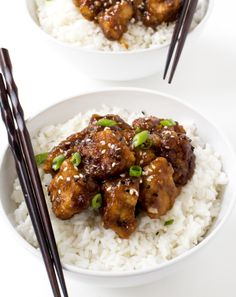 Slow Cooler General Tso's Chicken - Chef Savvy