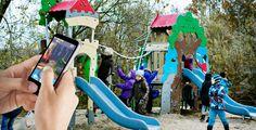 Speeltoestel gecombineerd met sprookjes-app. De SMART Playground integreert digitale sprookjes en virtuele games met een speeltoestel. Via QR-codes op het speelkasteel kunnen kinderen de Hans Christian Andersen PlayGate App downloaden. Wanneer de App wordt geopend verschijnt een wereld van 'Augmented reality'; een extra dimensie van personages en verhalen. Een 'dubbele' speelervaring voor de gebruiker en de begeleider.