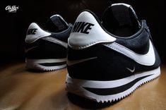 Cortez Basic SE Suede / EVA Baby Swoosh black / white noir / blanc Made in Indonesia 902803 003