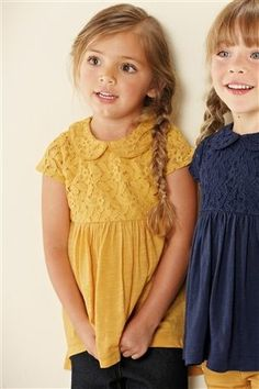 Lace Dolly Collar Tunic (3mths-6yrs)