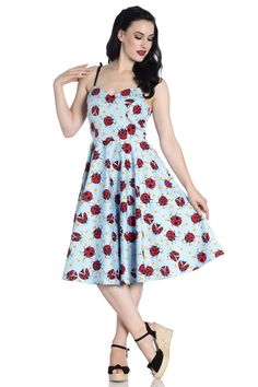 26e081436c899 Lila 50's Dress Bunny Outfit, 50s Dresses, Cotton Dresses, Trashy Diva,  Skirt