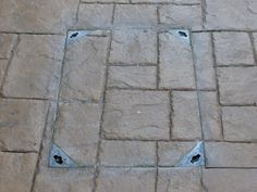 Drainage And Other Features Can Be Blended In As Per This Recessed Tray  Heavy Duty Manhole