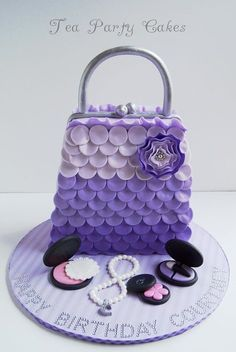 Purse Cake!!! I want this cake for my 40th bday in 4 years