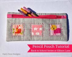Back to School Sewing - FairyFace Designs