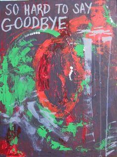 So Hard to Say Goodbye. Copyright Jess Barnett, 2009.
