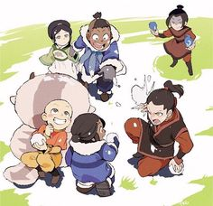 avatar the last airbender: chibi