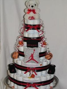 Boy Diaper Cakes | Product Details   Diaper Cakes By Renee. Boy Diaper CakesBaby  Shower ...