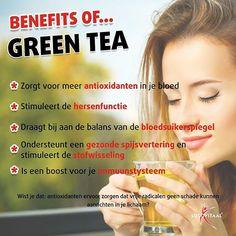 Lekker en gezond! #lucovitaal #benefits #tea #greentea #thee #groenethee #gezondheid #gezondheidsvoordelen #theeleut #healthy #foodforthought #fit