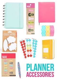 So many cute ways to personalize my planner!  I swear, 2015, I will be organized!