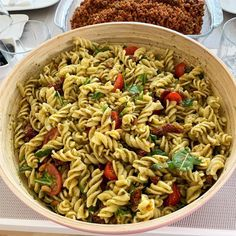 Pasta Salad, Pesto, Food And Drink, Meals, Ethnic Recipes, Easy Meals, Kids, Crab Pasta Salad, Meal