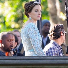 Blair in a Gorgeous Blue Gown in the Series Finale