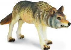 CollectA 88342 - Timber Wolf hunting