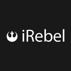 Check out this awesome 'iRebel+-+white' design on @TeePublic!