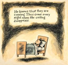 What There Is Before There Is Anything There: Celebrated Cartoonist Liniers Confronts Childhood Nightmares – Brain Pickings