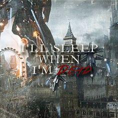I'll sleep when I'm dead. #masseffect
