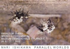 "Ishikawa Mari  :  I cordially invited you to the opening of the exhibition ""Parallel Worlds"" in Museum Cekého ráje Turnov on June 20. at 16:30  Exhhibition will ran until July 31.2012"