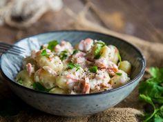 Gönn dir mal Gnocchi mit Lachs in Rahmsauce
