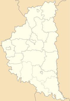 Mapa lokalizacyjna obwodu tarnopolskiego