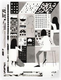 Image of Glitch Postcards