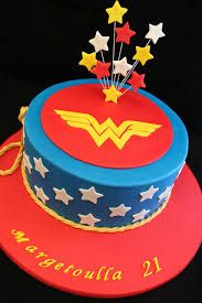 wonder woman cake - Google Search