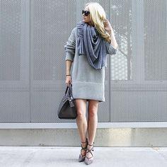 Wie man Kleider auch im Winter trägt   POPSUGAR Deutschland Mode